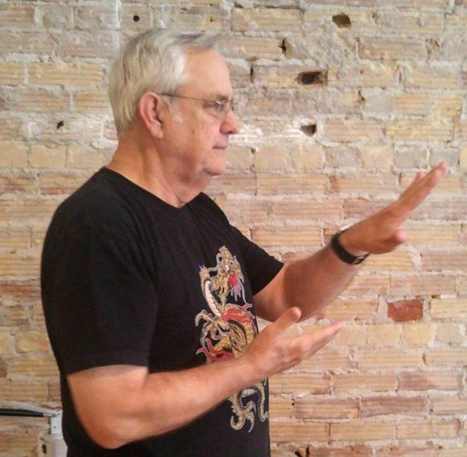 Paul teaches beginning Tai Chi